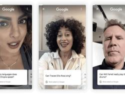 Now celebrities can answer questions on Google Search