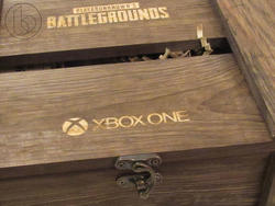 Check out this goofy PlayerUnknown's Battlegrounds box Microsoft sent us
