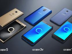 TCL launches three new Alcatel phones at CES 2018