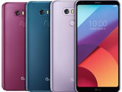 LG G6 gets some more colors a year later