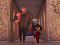 Mr. Incredible has a tough new job in the first Incredibles 2 trailer