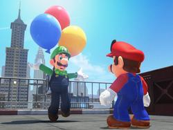 Super Mario Odyssey gets first DLC with Luigi mode