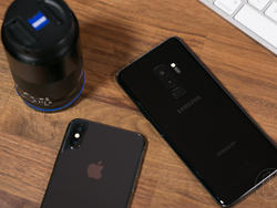 iPhone X lags behind the Galaxy S9 in download speeds