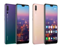 One notch, three cameras make up the Huawei P20