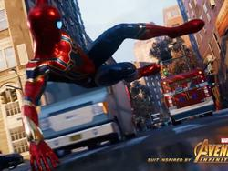 Spider-Man for PS4 will get Infinity War suit