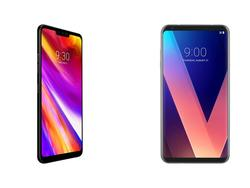 LG G7 vs. LG V30: Small refinements make a big difference