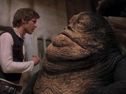 Here's how Solo's gangster reference connects to Jabba the Hutt, and why it's important