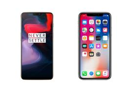 OnePlus 6 vs. iPhone X: The new notch meets the old notch