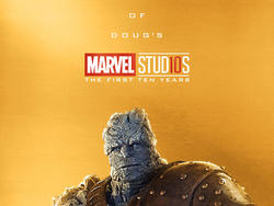 Marvel Studios releases spectacular gold posters to celebrate tenth anniversary