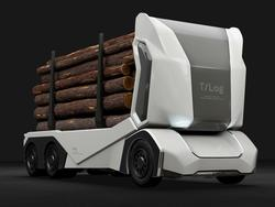 Einride Introduces Driverless, Electric Logging Truck