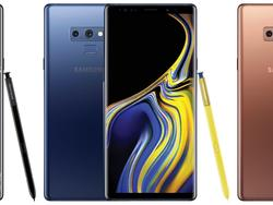 Galaxy Note 9 Leak Shows Every Stylish Color in Full