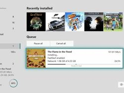 Now your Xbox will download the important stuff first