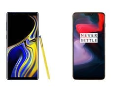 Galaxy Note 9 vs. OnePlus 6: Which One is Better?