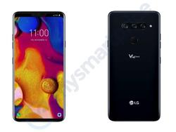 LG V40 ThinQ Renders Reveal Three Cameras and a Notch