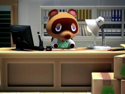 Tom Nook Welcomes the Switch to Animal Crossing