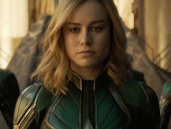 Captain Marvel's Official Poster Has a Super Cute Easter Egg