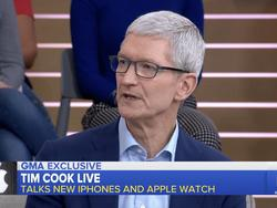 Tim Cook Admits the iPhone XS Is Very Expensive