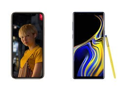 iPhone XS Max vs. Galaxy Note 9: Apple's New Flagship Takes On Samsung