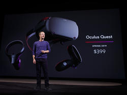 Oculus Quest is Facebook's High-End Wireless VR System