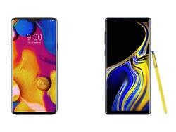 LG V40 ThinQ vs. Galaxy Note 9: Should Samsung Be Worried?