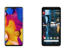 LG V40 ThinQ vs. Pixel 2 XL: Are Three Cameras Better Than One?