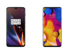 OnePlus 6T vs. LG V40: Does LG Stand a Chance?