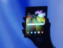Samsung Flexes With Its Foldable Phone Technology