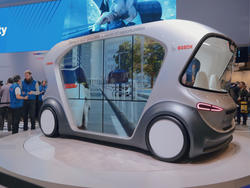 Bosch brings the tech of the future at CES