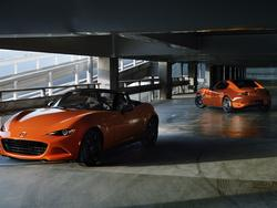 Mazda's Anniversary edition of the MX-5 Miata is an orange beauty