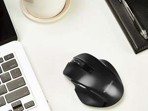Click around on the net with the AmazonBasics Compact Wireless Mouse at its best ever price