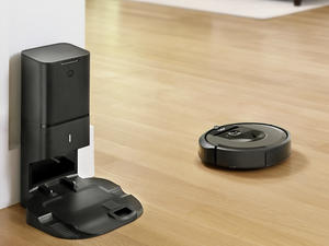 The iRobot Roomba i7+ empties its own dust bin and is currently $150 off