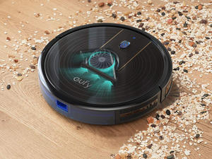 Clean up with Eufy's RoboVac 15C robot vacuum and Echo Dot bundle on sale