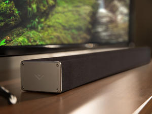 Save on Vizio's refurbished 32-inch sound bar with rear speakers and wireless subwoofer