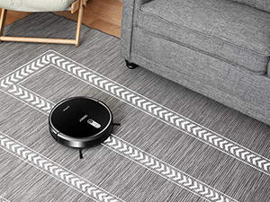 Let the ECOVACS DEEBOT 711 robot vacuum clean up for you at its best price