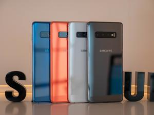 Samsung launches the Galaxy S10 series in India