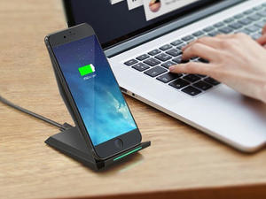 Replace your frayed power accessories with this wireless charging stand at $5 off