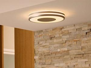 Adjust this Philips Hue Flushmount ceiling light from your phone at 25% off
