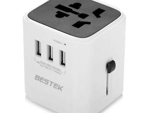 Travel with your tech easily thanks to this $7 Bestek Travel Power Adapter