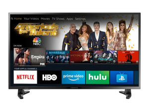 Stay in and watch something new with $100 off the 39-inch Insignia Fire TV