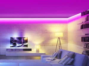 Brighten up your home with 50% off this 16.4-foot Minger LED light strip