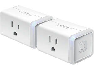Control two devices remotely with these TP-Link smart plugs on sale for $23
