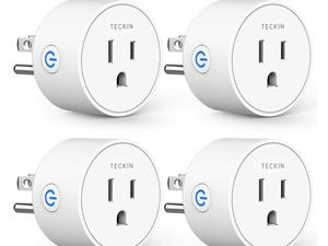 Schedule these discounted Teckin Smart Plugs to work whenever you want