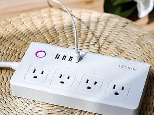 This discounted Smart USB Power Strip gives you control over each outlet