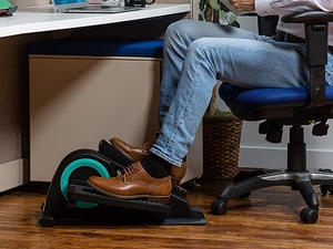 Work while you work out with the Cubii Jr Desk Elliptical at 25% off today