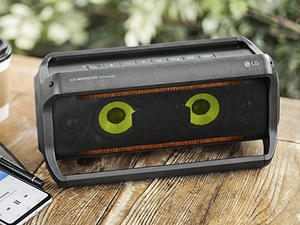 Jam at the beach with LG's refurb PK5 XBOOM Go Bluetooth Speaker at $45 off