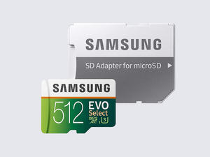Gain 512GB of storage with this Samsung microSD card on sale for $89