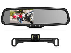 Turn your rearview mirror into a backup camera with $42 off this Auto-Vox kit