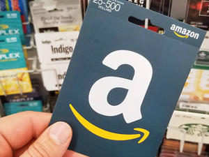 Select Amazon customers can get a $5 credit with a $50 gift card purchase