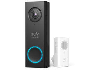 See and talk to visitors with Eufy's video doorbell on sale for $112