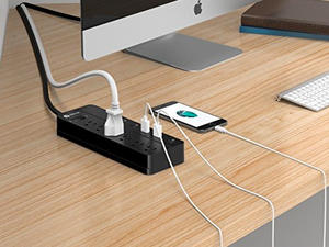 Turn one outlet into many with iClever's USB Power Strip on sale for $22